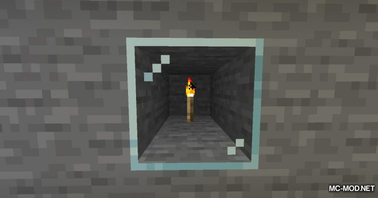 Ceiling Torch mod for Minecraft (5)