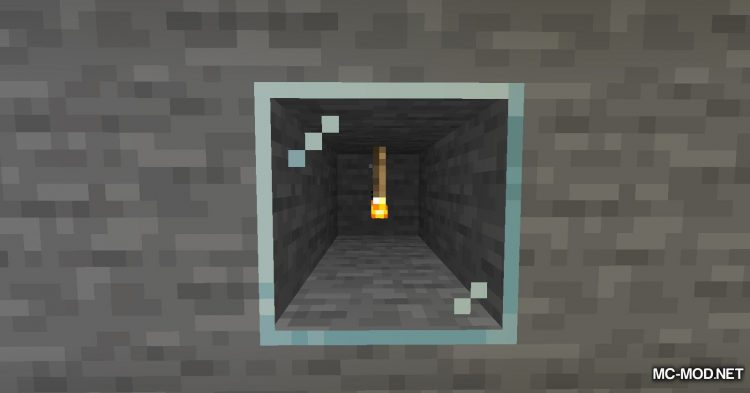 Ceiling Torch mod for Minecraft (6)