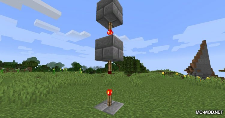 Ceiling Torch mod for Minecraft (9)