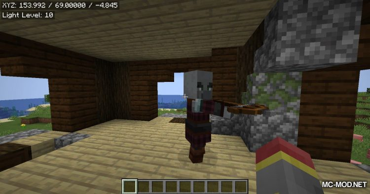 EasyCoords mod for Minecraft (4)