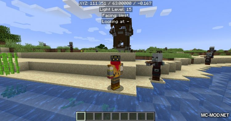 EasyCoords mod for Minecraft (6)