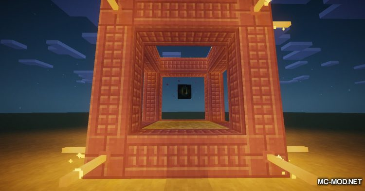 End Teleporters mod for Minecraft (10)