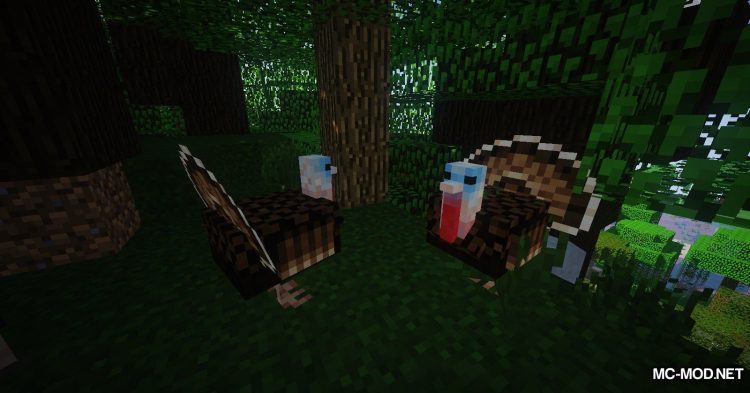 Familiar Fauna mod for Minecraft (10)