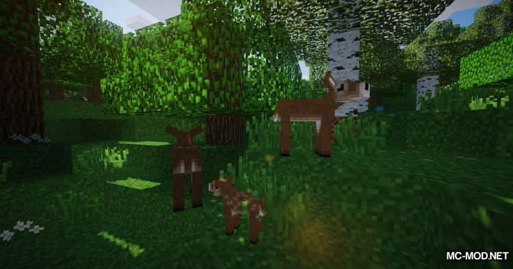 Familiar Fauna mod for Minecraft (16)