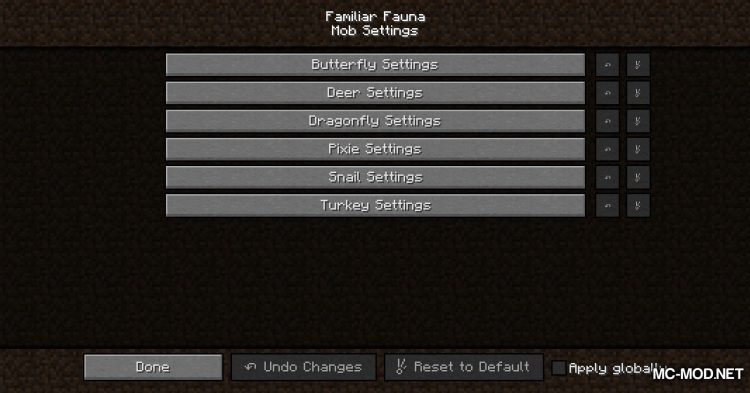 Familiar Fauna mod for Minecraft (2)