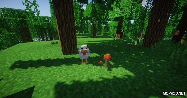 Familiar Fauna mod for Minecraft (9)