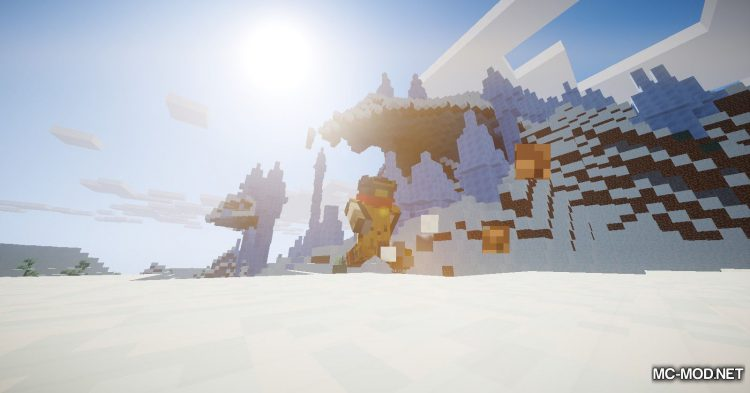 FreeLook mod for Minecraft (4)