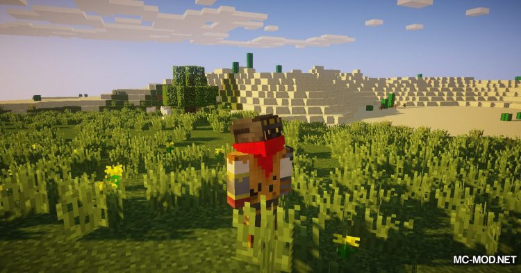 FreeLook mod for Minecraft (6)