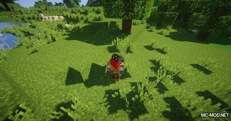 FreeLook mod for Minecraft (8)