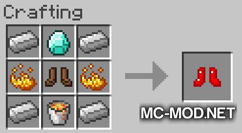 More Boots mod for Minecraft (13)