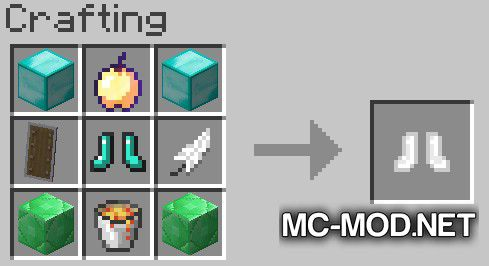 More Boots mod for Minecraft (15)