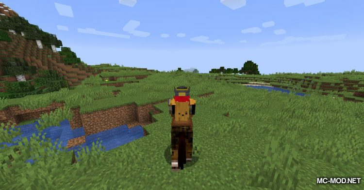 Mounted Pearl mod for Minecraft (4)