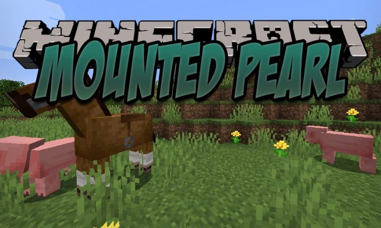 Mounted Pearl mod for Minecraft logo