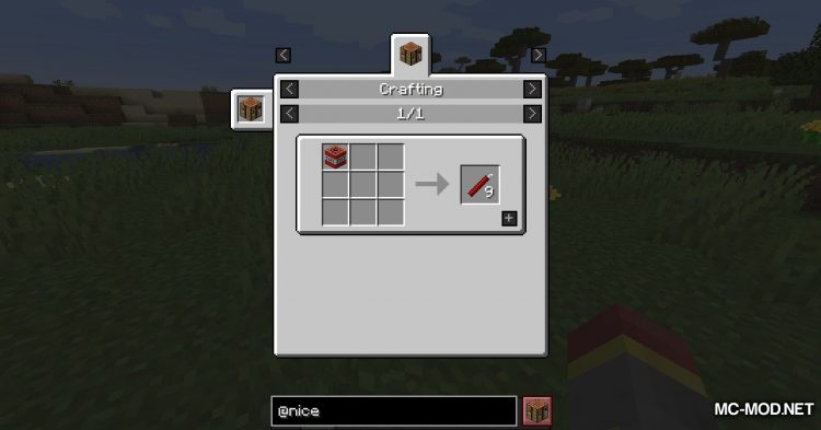 Nice To Have mod for Minecraft (5)