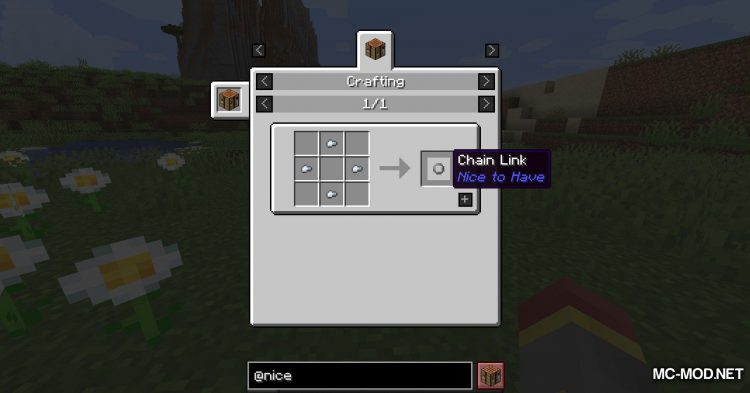 Nice To Have mod for Minecraft (9)