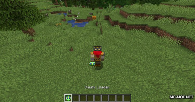 Plain Chunk Loader mod for Minecraft (3)
