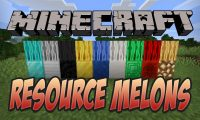 Resource Melons mod for Minecraft logo