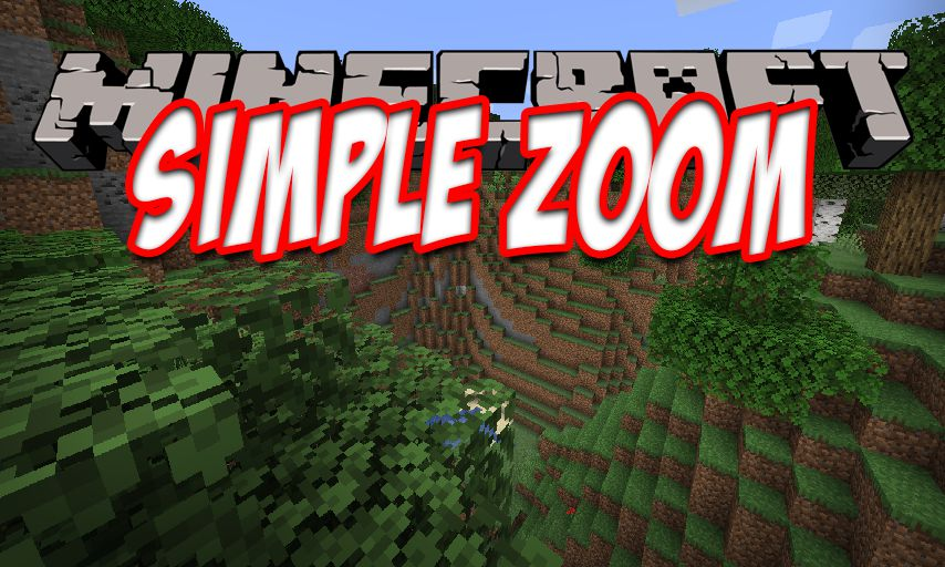 SimpleZoom mod for Minecraft logo
