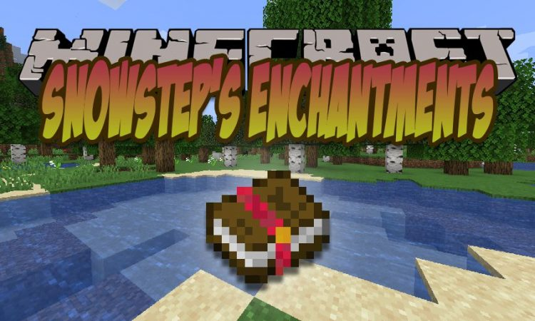 Snowstep_s Enchantments mod for Minecraft logo