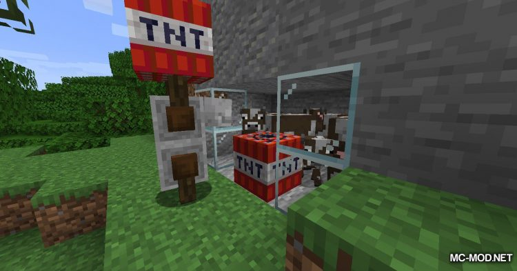 TNT Yeeter mod for Minecraft (10)