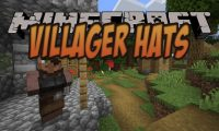 Villager Hats mod for Minecraft logo