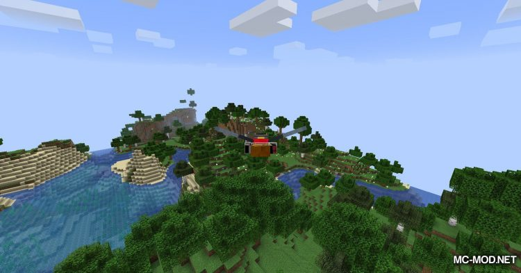 Caelus API mod for Minecraft (6)