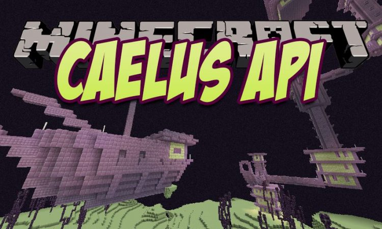 Caelus API mod for Minecraft logo