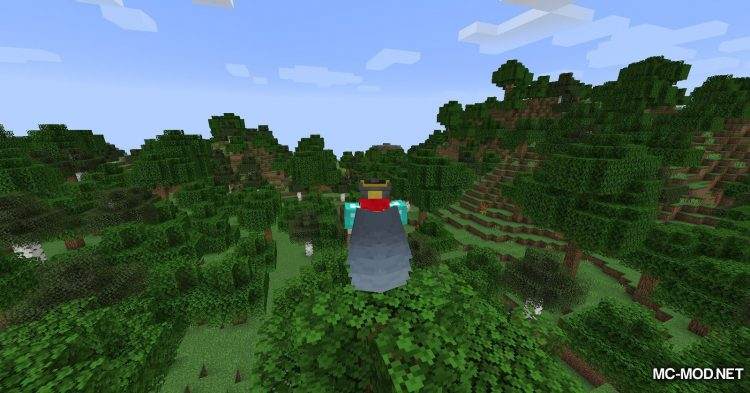 Curious Elytra mod for Minecraft (4)