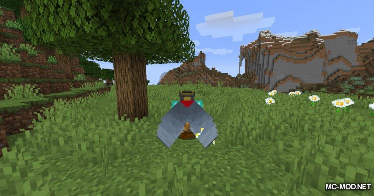 Curious Elytra mod for Minecraft (6)
