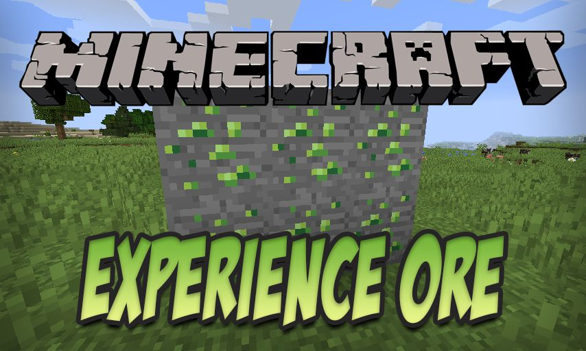ExperienceOre mod for Minecraft logo