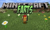 Farts mod for Minecraft logo