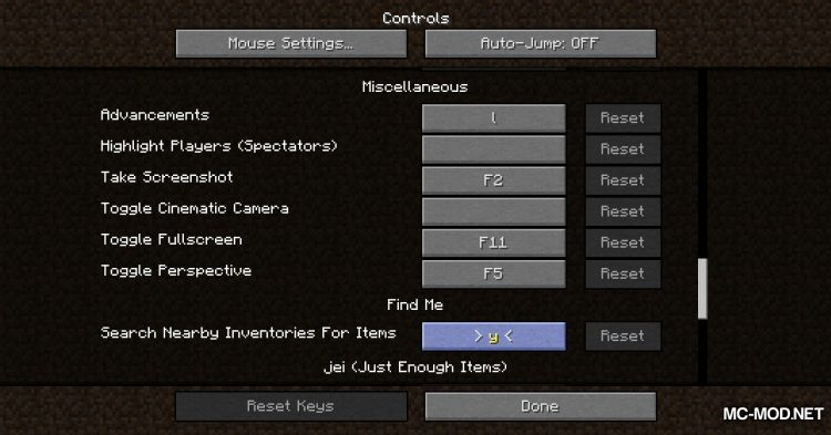 FindMe mod for Minecraft (12)