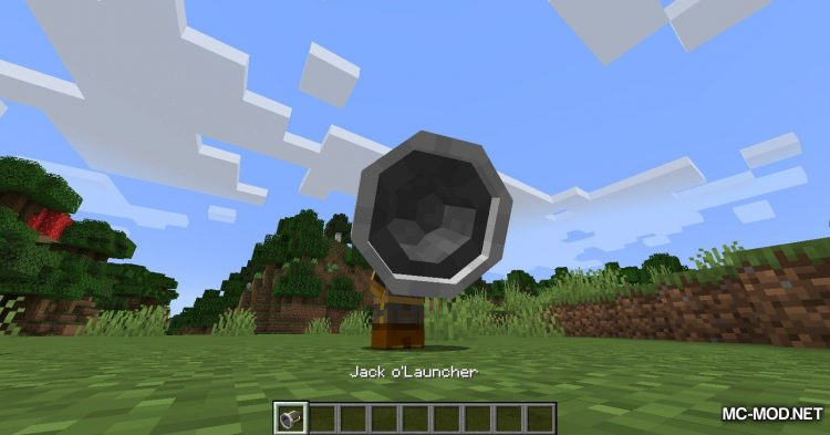 Jack-O_-Launcher mod for Minecraft (3)