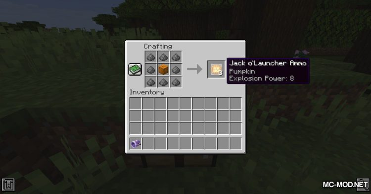 Jack-O_-Launcher mod for Minecraft (8)