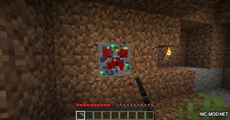 Lucky Ores mod for Minecraft (9)
