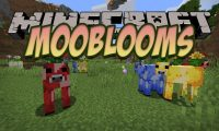 Mooblooms mod for Minecraft logo