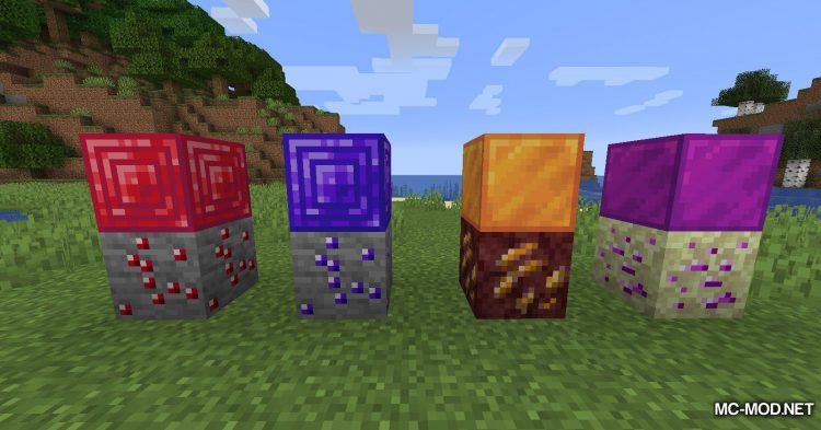 More Ores in ONE mod for Minecraft (12)