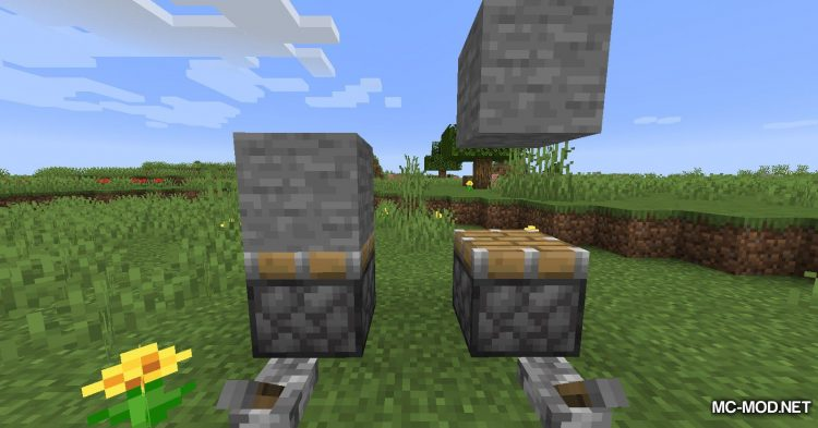 Mute Pistons mod for Minecraft (7)