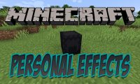 Personal Effects mod for Minecraft logo