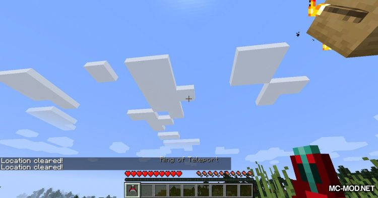 Ring of Teleport mod for Minecraft (10)