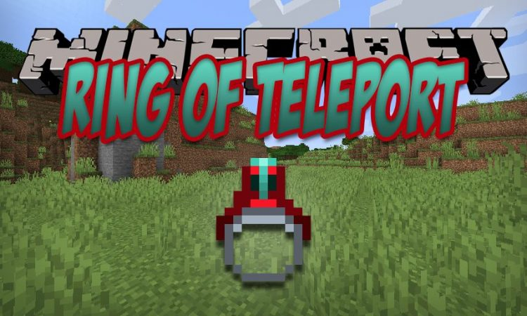 Ring of Teleport mod for Minecraft logo