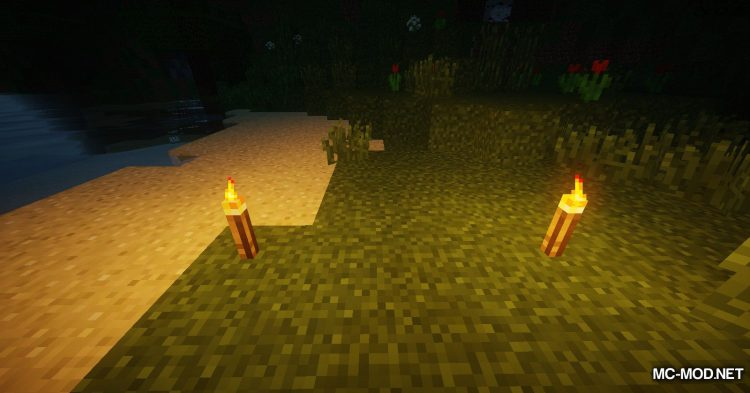Torch Lever mod for Minecraft (4)