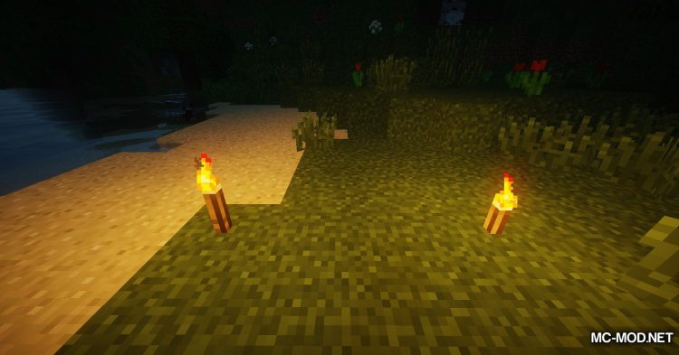 Torch Lever mod for Minecraft (5)