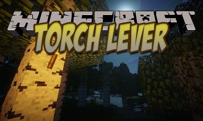 Torch Lever mod for Minecraft logo