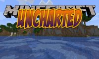 Uncharted mod for Minecraft logo