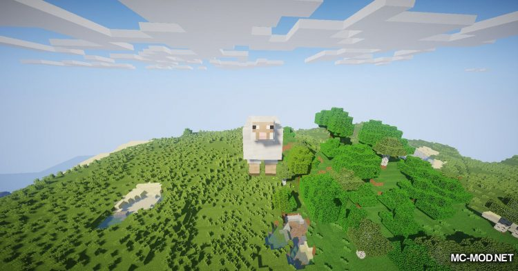 Balloon Sheep mod for Minecraft (8)