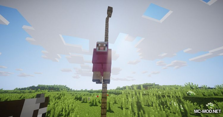 Balloon Sheep mod for Minecraft (9)