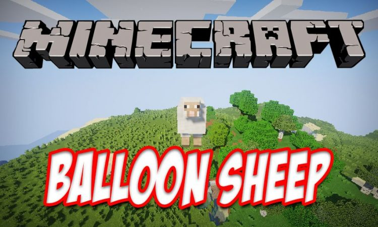 Balloon Sheep mod for Minecraft logo