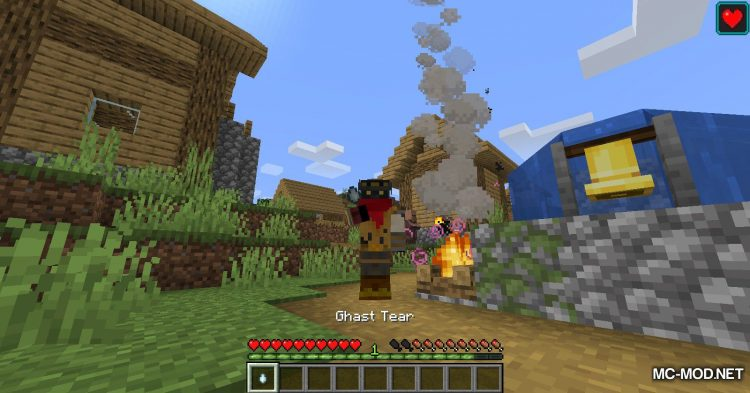 Campfire Incense mod for Minecraft (9)