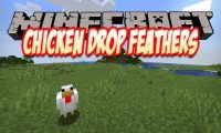 Chicken Drop Feathers mod for Minecraft logo